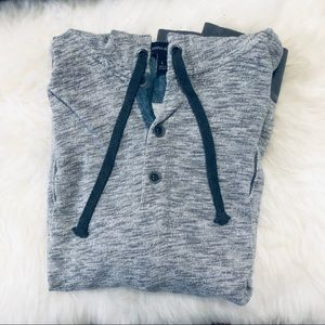 Banana Republic | Button-Up Hoodie